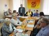 Пресс-конференцию справороссов ведет Виктор Каменев